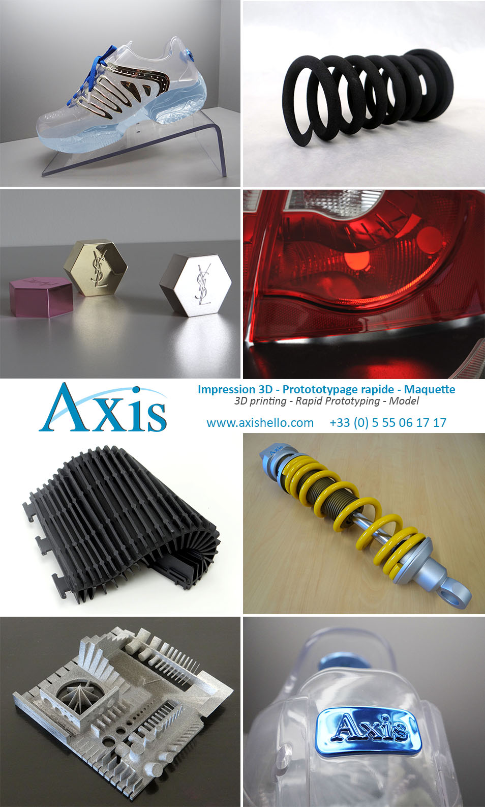 Axis prototypage rapide par fabrication additive