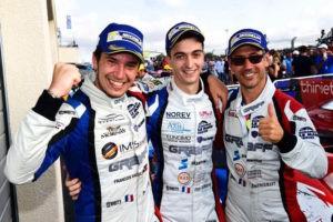 Victoire Enzo Guibbert au 4H Castellet LMP3 ELMS -1