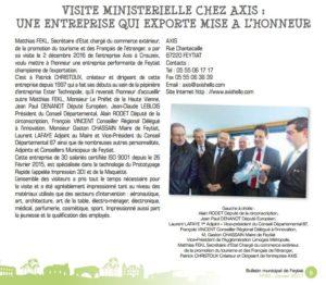 Parution bulletin municipal de Feytiat janvier 2017 n°93