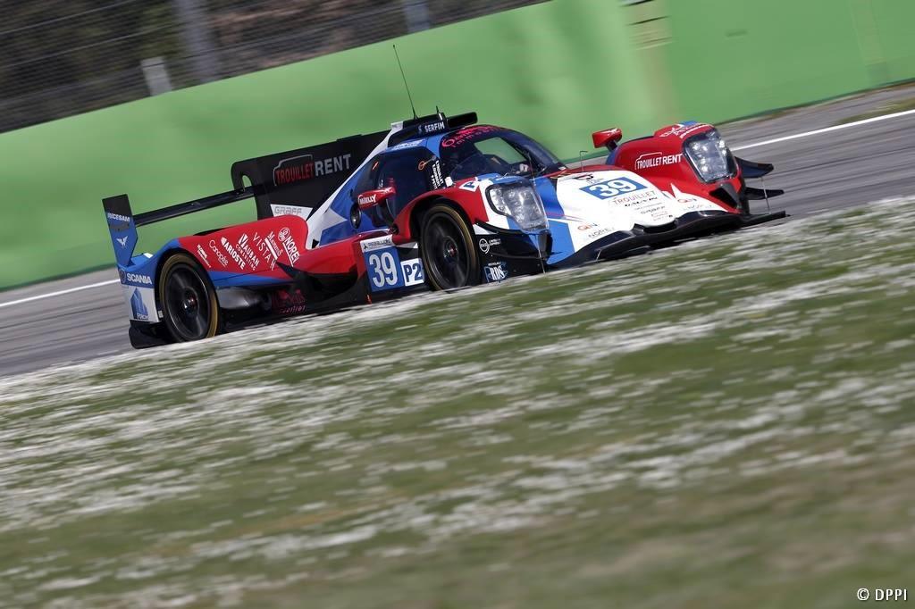 Monza 2eme de la première journée official test ELMS
