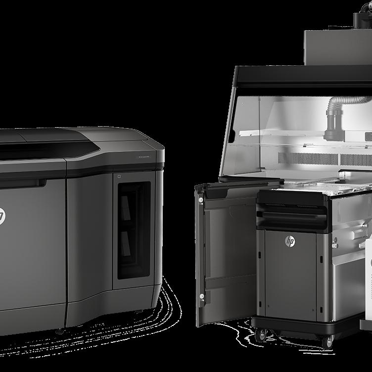 La impresora 3D Jet Fusion en Axis