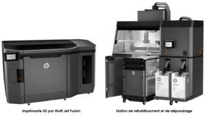 3D-печать Hp multi Jet слияния лимузинов