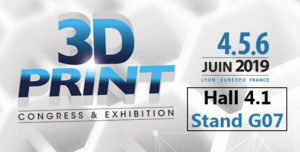 3Dprintlyon + stand