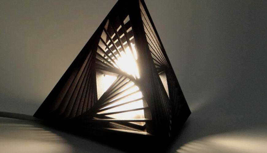 prototypage rapide 3d lampe
