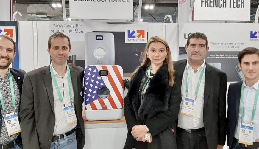 Axis et Daan technologies prototype BOB CES 2020