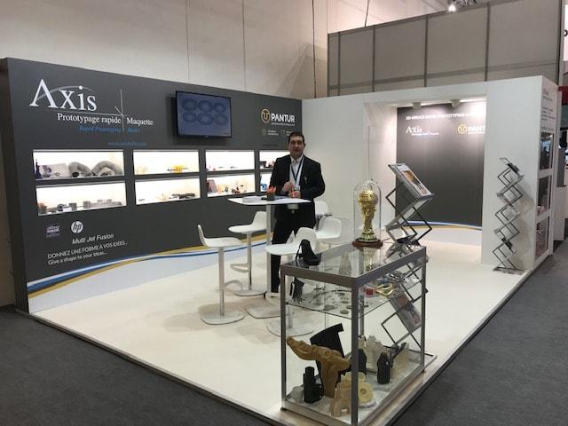 Axis spécialiste du prototypage rapide au salon Formnext 2019