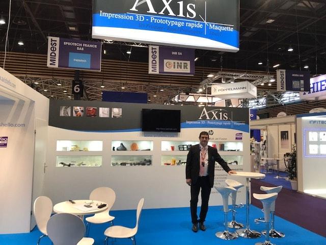 Axis spécialiste du prototypage rapide au salon Global Industrie 2019