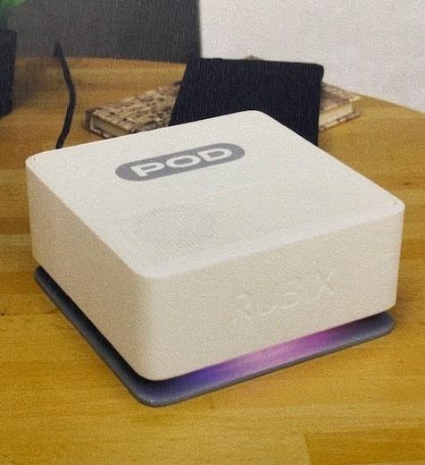 Axis participe à la fabrication du Pod de Rubix